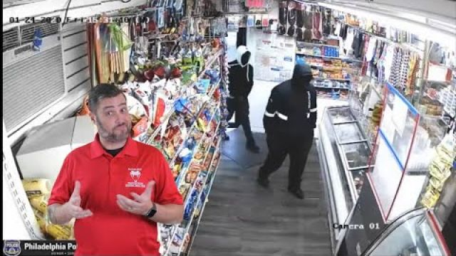 Failed Robbery Attempt From Philadelphia