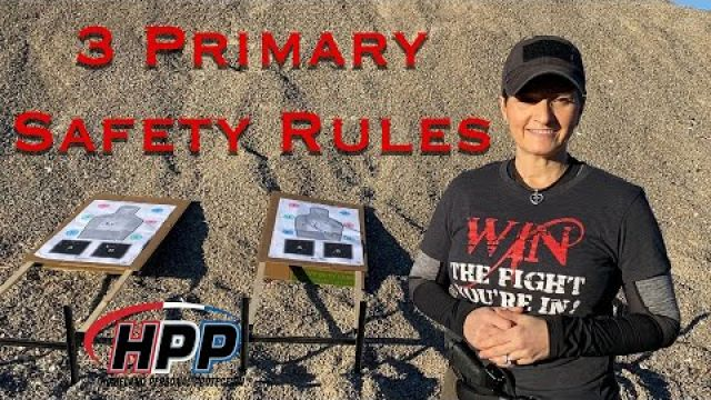 3 Primary Safety Rules with Maggie Mordaunt from HPP Training