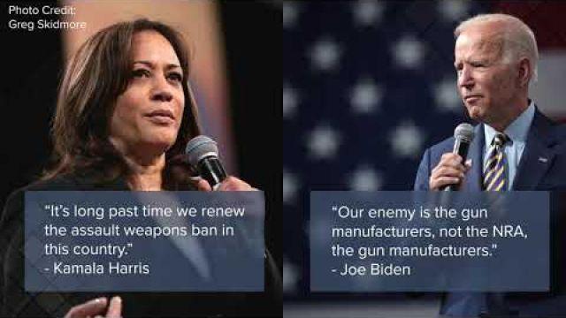 Biden - Harris Make for Most Antigun Ticket