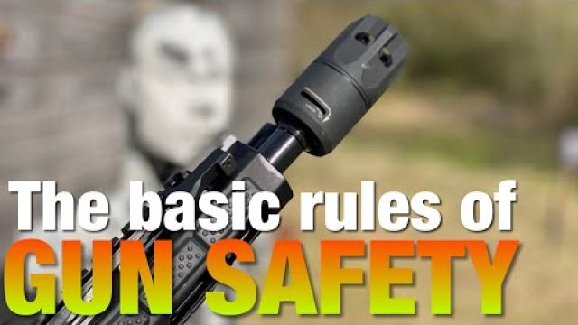 Rules of gun safety - that the anti-gun movement ignores.