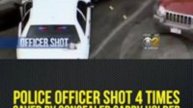 Ryan Fournier - Gun Owner Saves Wounded Cop.   Facebook