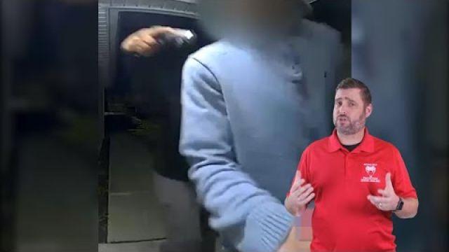 Front Door Robbery In Nashville