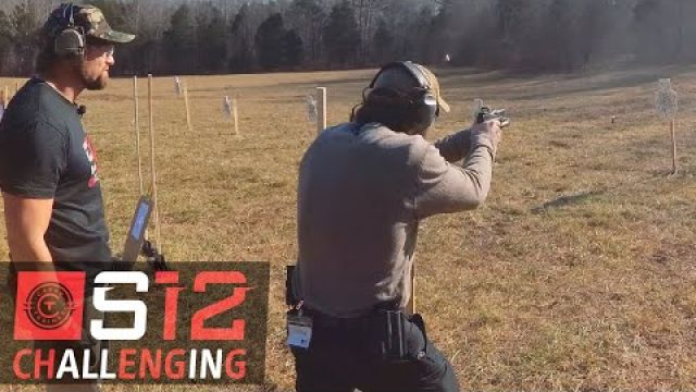 Shooting and Moving With Pistols at S12