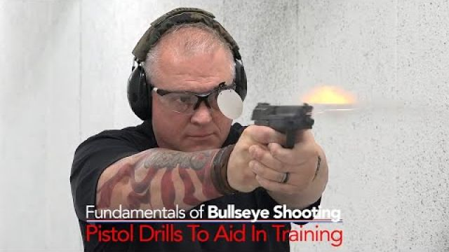 Pistol Drills To Aid In Training